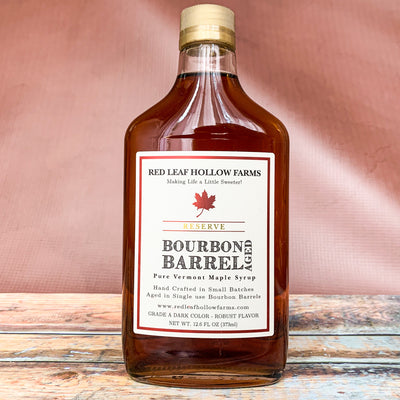 Bourbon Barrel Aged Maple Syrup, The Maple Shop - Scrumptious Secrets