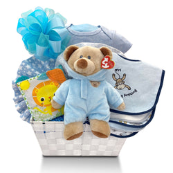 Welcome to the World Newborn Baby Gift Basket