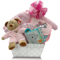 A Warm Welcome Sleeper Gift Basket