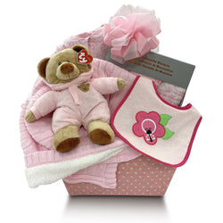 Huggable Baby Gift Basket