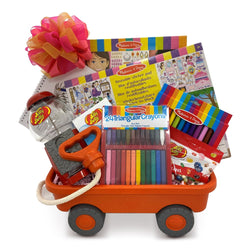 Roll with Creativity Girls Toy Gift Basket