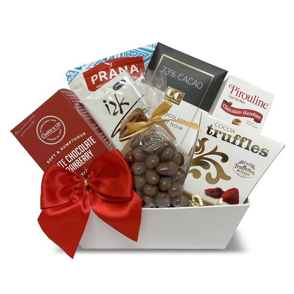 Kosher Dairy Chocolate Sampler Gift Basket