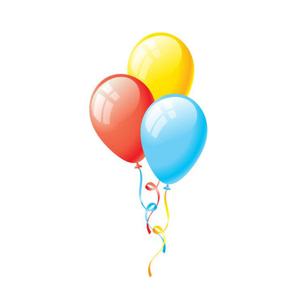 3 balloons (for local Montreal delivery only)