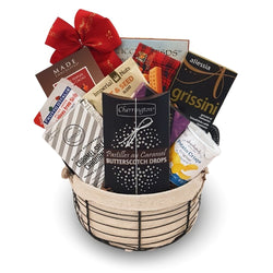 Chocolate & Snacks - Munchies Gift Basket
