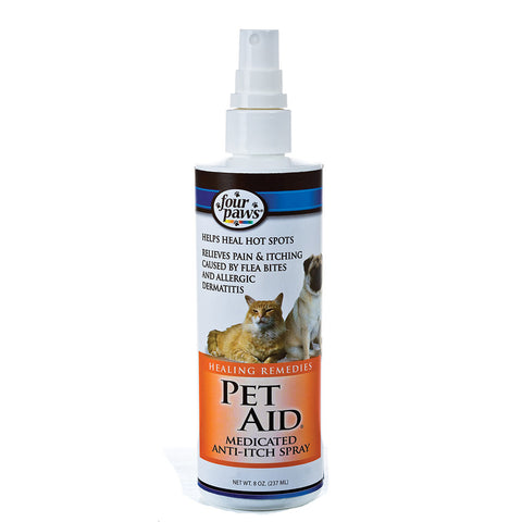 Four Paws Juicy Couture Pet Aid Anti Itch Spray 8 oz