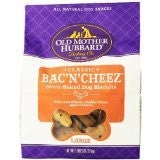"Old Mother Hubbard Bac ""n"" Cheese Small Biscuits"