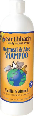 Earthbath Oatmeal Aloe Shampoo 16 Oz