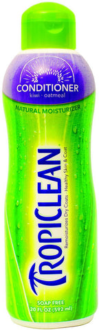 TropiClean Kiwi Natural Pet Conditioner 20 fl. oz.