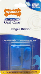 Nylabone Advanced Oral Care Finger Brush, 2 Pack