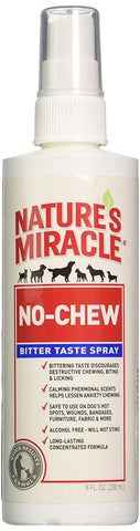 Nature's Miracle No Chew Bitter Taste Spray, 8 oz