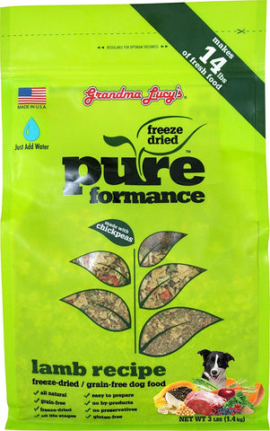 Grandma Lucy's Pureformance Grain Free Chicken Food For Dogs