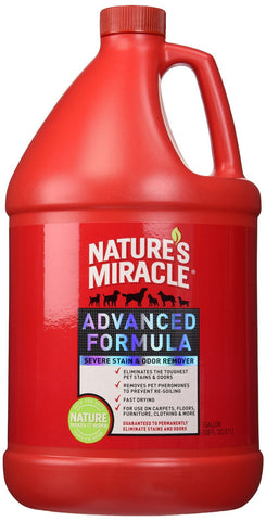 Nature's Miracle Advanced Stain & Odor Remover 1 Gallon