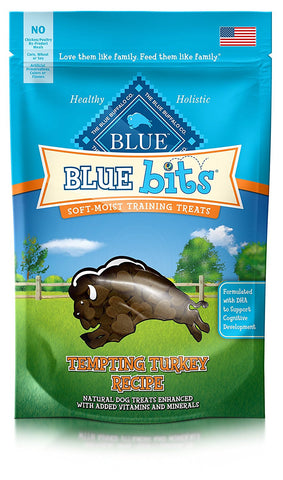 Blue Buffalo Blue Bits Turkey Training Treats, 4 Oz