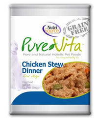 Pure Vita Grain Free Chicken Stew Dinner