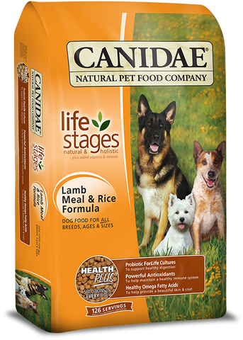 CANIDAE® ALL LIFE STAGES DOG FOOD WITH LAMB MEAL & RICE