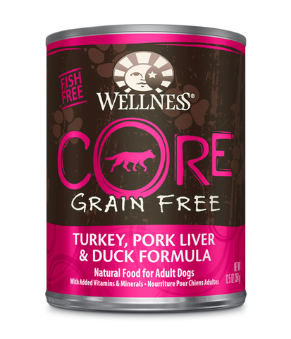Wellness Core Canned Dog Food Formulas