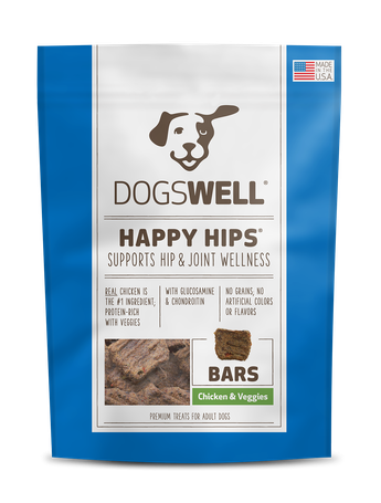Dogswell Happy Hips® Bars Chicken & Veggie Treats