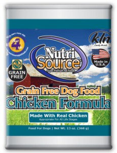 Nutrisource Grain Free Canned Recipe
