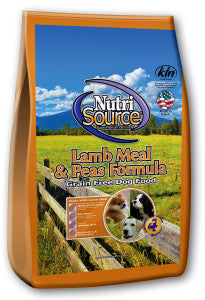 Nutrisource Lamb Nutri Source Grain Free Lamb Dog Food