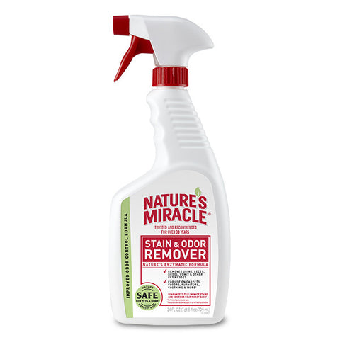 Nature's Miracle Stain & Odor Remover Spray 24 Oz.
