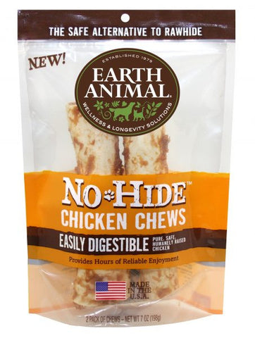 Earth Animal No Hide Chicken Chews 2 Pack