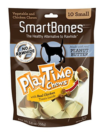 SmartBones PlayTime Dog Chew - 10 count