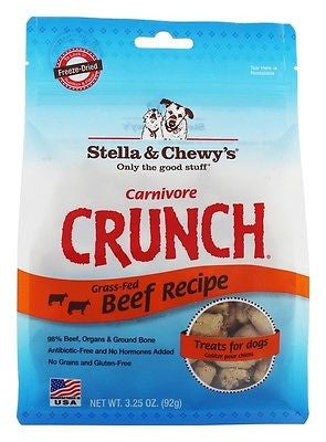 Stella and Chewy STL 3OZ Beef Carnivore Crunch