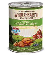 Whole Earth Canned Dog Food Recipes