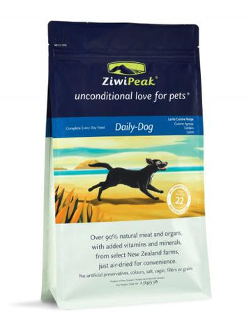 Ziwipeak Real Meat Grain Free Air-Dried Dog Food Pouch