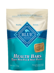 BLUE™ Health Bars Baked with Fish and Sweet Potato