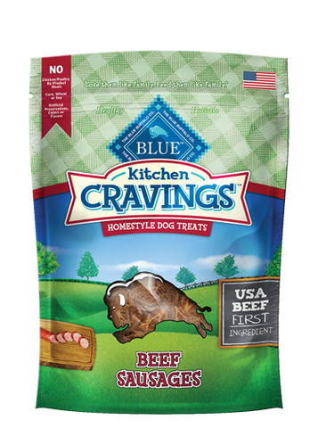 BLUE Kitchen Cravings™ Beef Sausages