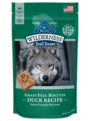 Blue Buffalo Dog Treats, Duck & Chicken Biscuits