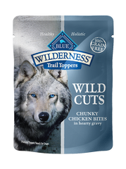 Blue Buffalo Wilderness® Wild Cuts Trail Toppers™ Chunky Chicken Bites in Hearty Gravy