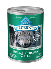 BLUE Wilderness® Duck and Chicken Canned Dog Food
