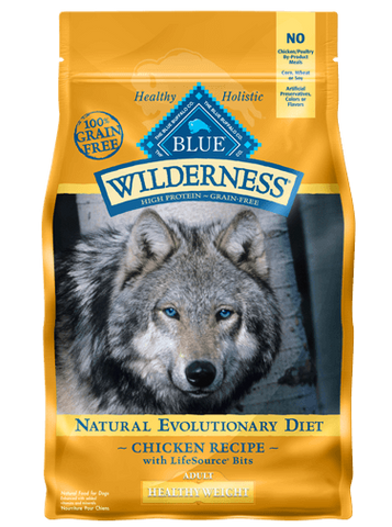BLUE Wilderness® Healthy Weight Chicken Recipe for Adult Dogs