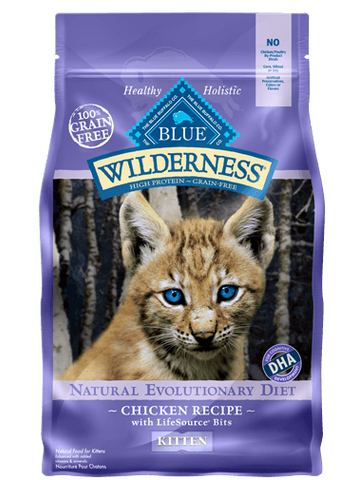 Blue Buffalo Wilderness® Chicken Recipe For Kittens