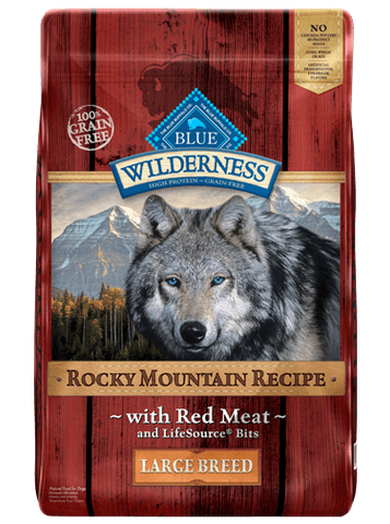BLUE Wilderness® Rocky Mountain Recipe™ - Red Meat for Large Breed Dogs
