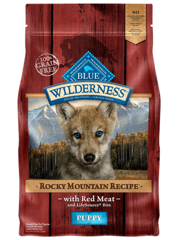 BLUE Wilderness® Rocky Mountain Recipe™ Red Meat for Puppies