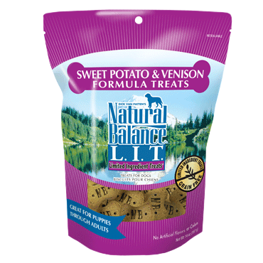 Natural Balance 8OZ Venison/Potato Treat