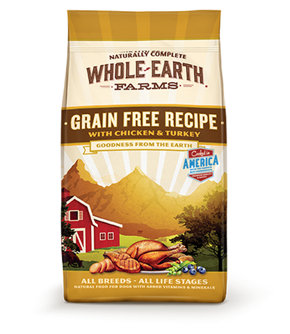 Whole Earth Farms Grain Free Chicken Turkey