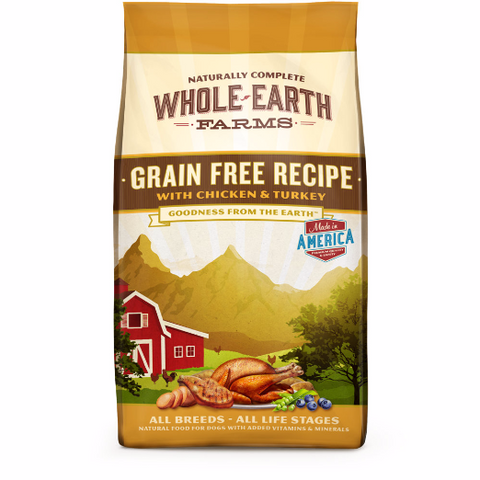 Whole Earth Farms Grain-Free - Chicken & Turkey