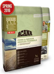 Acana Pork & Butternut Squash Singles Formula Dry Dog Food
