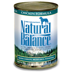 Natural Balance Canned Dog Food Formulas