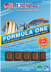 Ocean Nutrition Formula One Cubes 3.5 oz