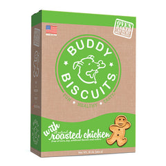 Buddy Biscuits Grain Free Oven Baked Dog Treats, Rotisserie Chicken, 16-oz