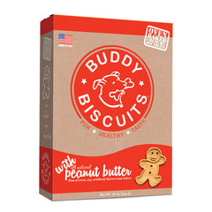 Buddy Biscuits Original Oven Baked Treats: Peanut Butter 16-oz
