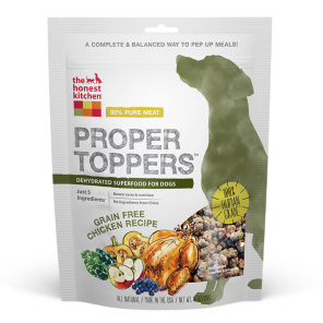The Honest Kitchen Proper Toppers Grain Free Chicken Dog Food