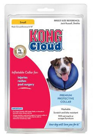 Kong Cloud Inflatable E-Collar Small Neck Circumference 6-10 inch