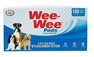 Four Paws Wee Wee Pads 10 Pack