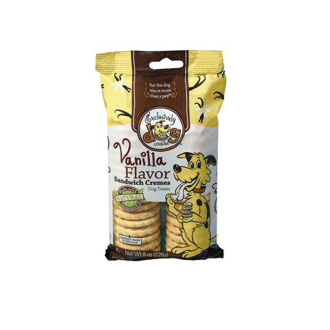 Exclusively Pet Sandwich Vanilla, 8-Ounce